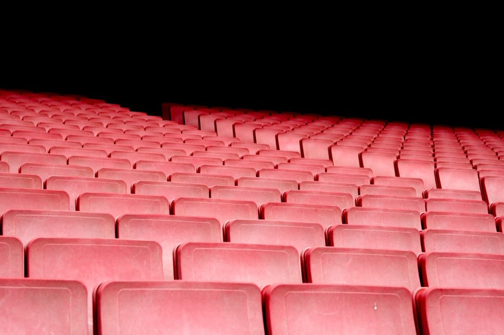 auditorium seats empty